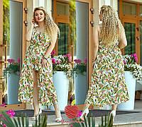 Женский сарафан-юбка-шорты Батал, фото 1