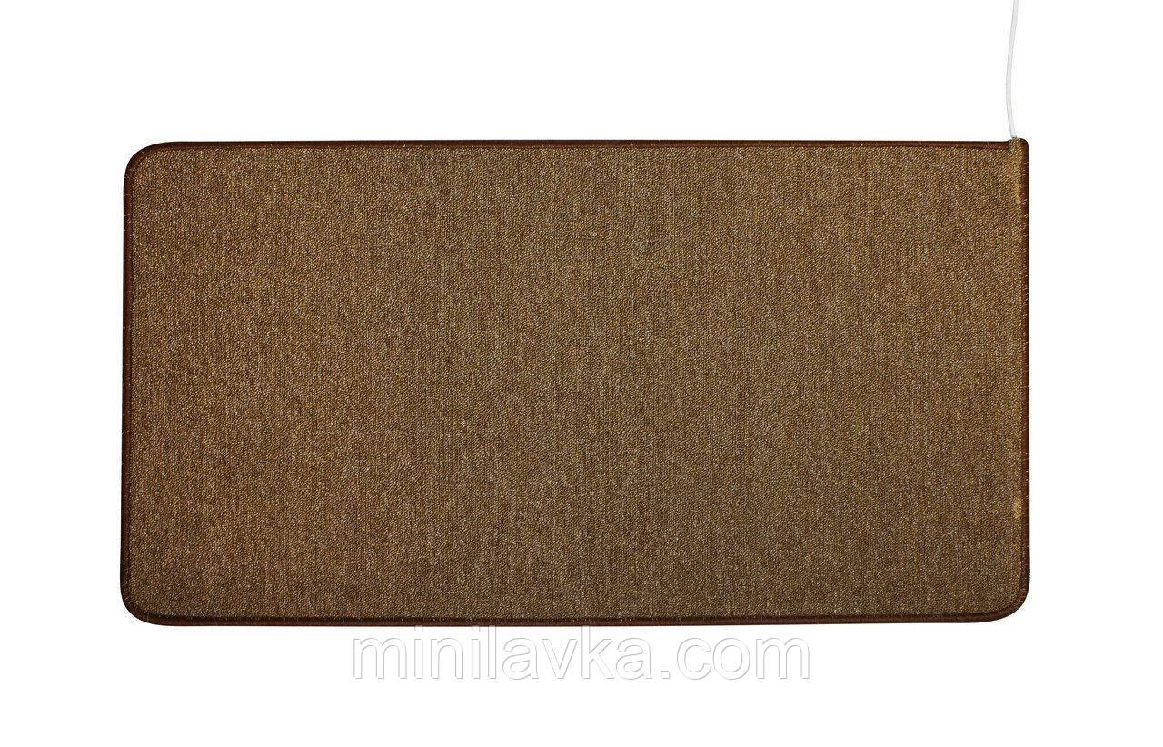 Коврик с подогревом SolraY CB 53123 53 x 123 cм коричневый