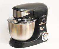 Кухонный комбайн тестомес Royalty Line RL-PKM1600 BLACK 1600 Вт