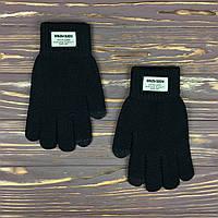 Черные сенсорные перчатки, фото 1