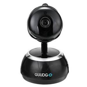 Wifi IP камера GUUDGO GD-SC02 720P 1.0 МП, нічне бачення, двосторонній зв'язок. Чорний колір
