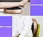 Электрический массажер для ног спины роликовый массаж, фото 8