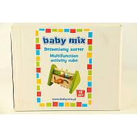 BABY MIX Деревянные счеты сортер
