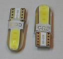 Лампа автомобильная светодиодная ZIRY T10 w5w 8SMD 5730, белая, фото 3