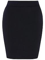 Школьная юбка трикотажная темно-синяя на девочку 10-11-12-13-14 лет Tube Skirt George (Aнглия)