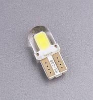 Лампа автомобільна світлодіодна ZIRY T10 w5w 4SMD 5730, біла, фото 1