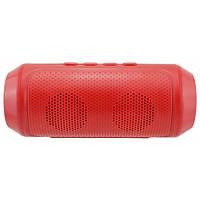 Портативная bluetooth колонка MP3 FM Q610, красная
