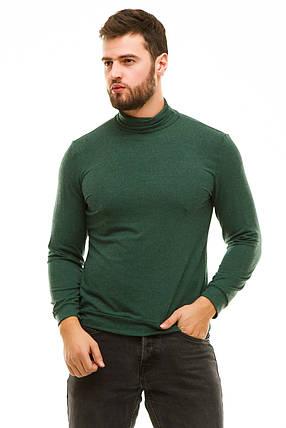 Гольф с манжетами 610 зеленый, фото 2