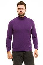 Гольф с манжетами 610 фиолетовый