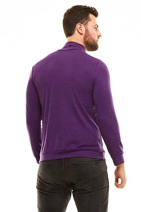 Гольф с манжетами 610 фиолетовый, фото 2