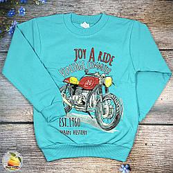 Джемпер з мотоциклом і начосом для підлітка Розміри: 8,9,10,11,12 років (9086-1)