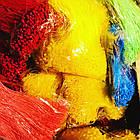 Кільцевий ручної з'єднувач (ярлыкодержатель) для кріплення бірок та ярликів 12 см (зелений, рожевий, блакитно), фото 8