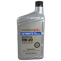 Масло моторное(ENGINE OIL Ultimate Full Synthetic 5w-20).  0.946L