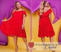 Женское платье на подкладе Батал, фото 1