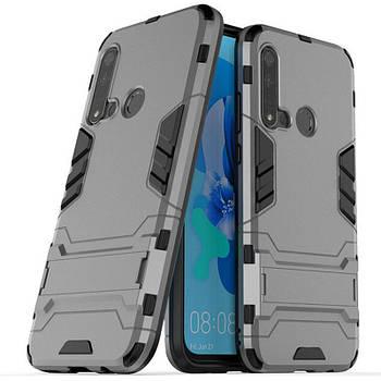 Ударопрочный чехол-подставка Transformer для Huawei P20 lite (2019) с мощной защитой корпуса