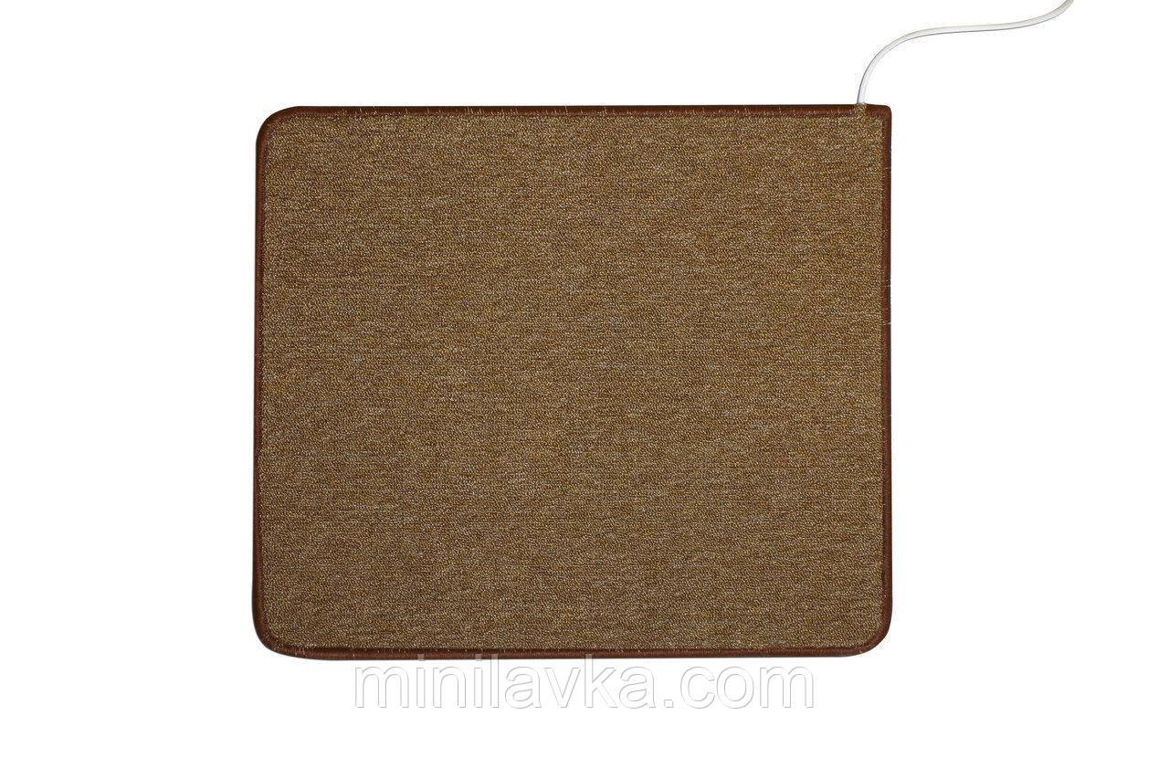Коврик с подогревом SolraY CB5363 53 x 63 cм коричневый