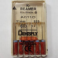 K-Reamers 31мм, уп.6шт, №025, Dentsply Maillefer