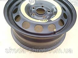 Диск штампованный VAG 1K0 601 027 K стальной - запаска  5x112 R16   ET50  Audi , Фольксваген , Шкода ,Сеат