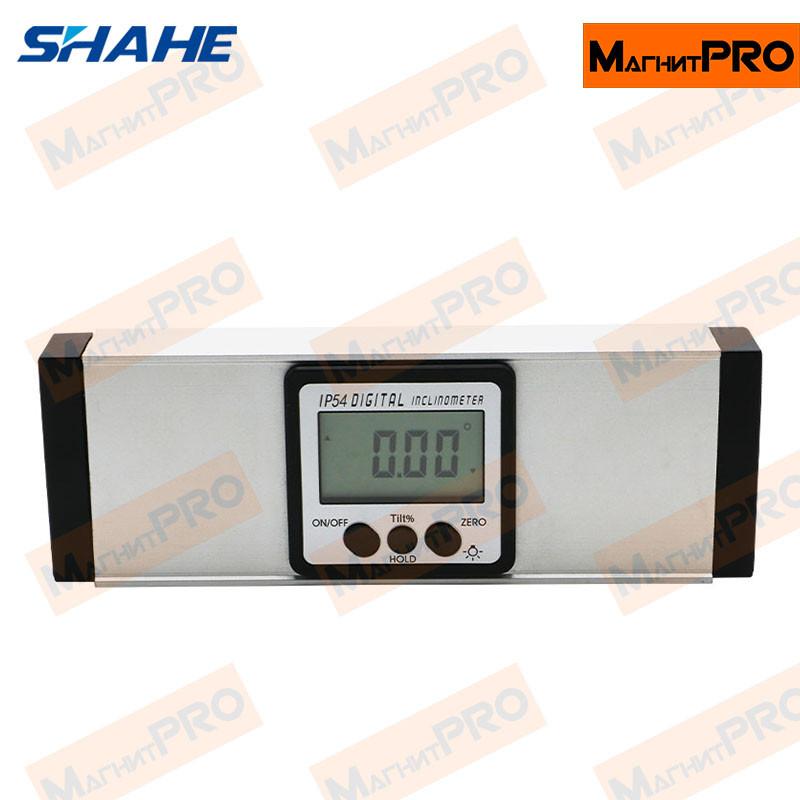 2 в 1 цифровой угломер и строительный уровень Shahe 5418-150