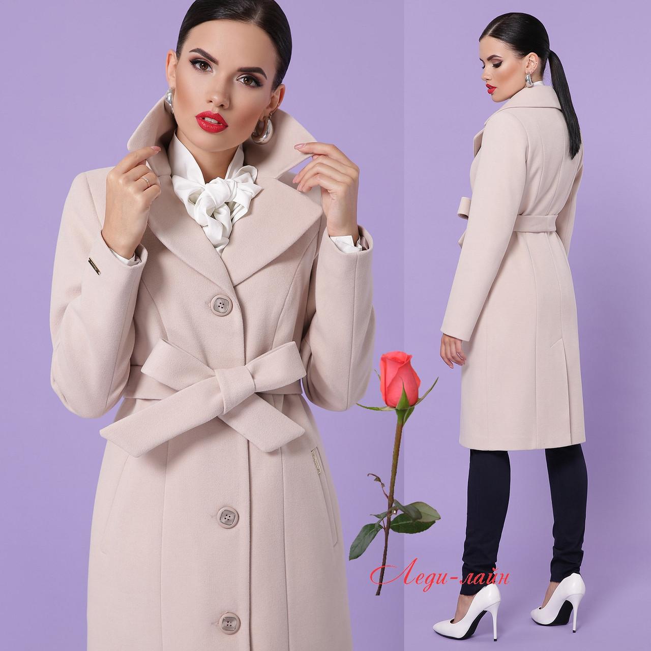 Шикарное пальто классического кроя GL- П-316-100