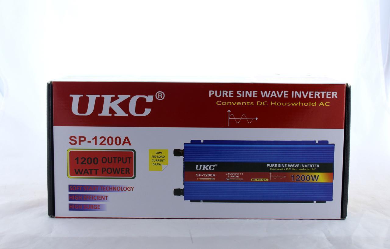 Преобразователь синусоида AC/DC sine 1200W 12V (10) в уп. 10шт.