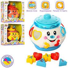 Музичні та розвиваючі іграшки для малюків (сортери, муз. центри)