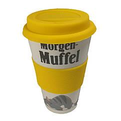 Кофейная кружка to Go Becher 350ml Bambus Muffel