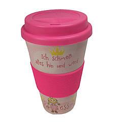 Кофейная кружка to Go Becher 350ml Bambus Princess