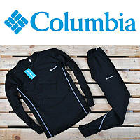 Термокостюм чоловічий  Columbia Чорний із білим  (ТОП Якість)