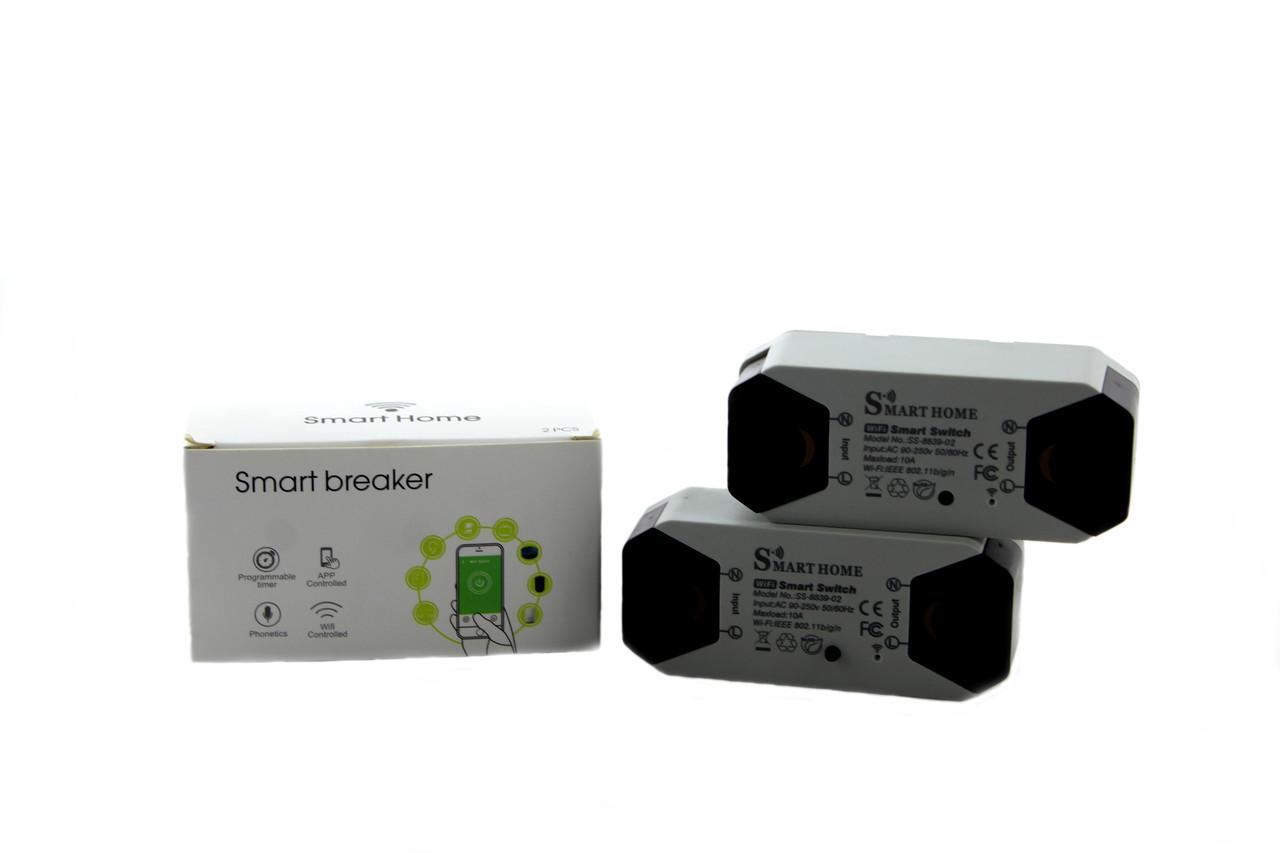 """Беспроводной WiFi выключатель умный дом """"Smart Home SS 8839-02"""""""