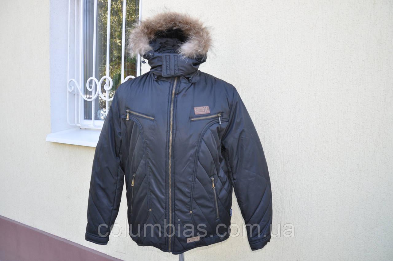 Мужская зимняя куртка дёшево р.54