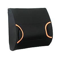 Подушка под поясницу ортопедическая с гелевой вставкой OSD-LP363313-GL (подушка для спины, под спину)
