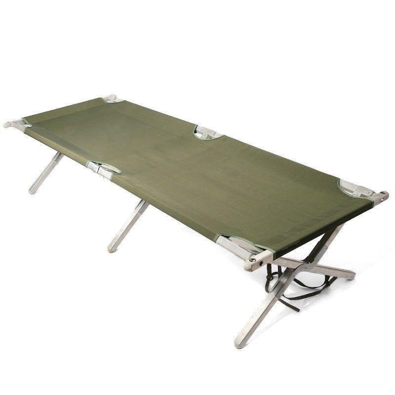 Оригинальная раскладная кровать US/ UK Army Folding Bed олива