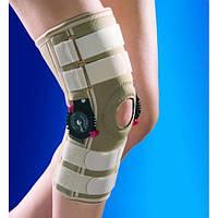 Бандаж, ортез на колено из изменяемым углом сгибания ОSD-0019 (наколенник, фиксатор коленного сустава)