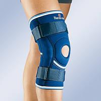 Бандаж, ортез на колено с боковыми вставками и шарниром 4104 (наколенник, фиксатор коленного сустава)
