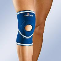 Бандаж, ортез на колено с открытой коленной чашечкой 4101 (наколенник, фиксатор коленного сустава)