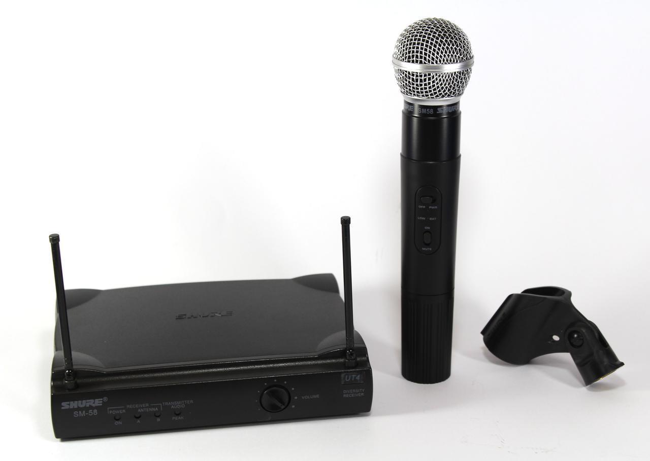 Радиосистема микрофон SHURE DM SM 58/UT24