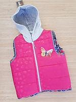 Жилетка на девочку пр-во Турция ( р-ры 5 - 8 лет ), фото 1