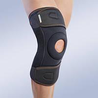 Бандаж, ортез на колено с боковыми вставками и шарниром, 7120 (наколенник, фиксатор коленного сустава)