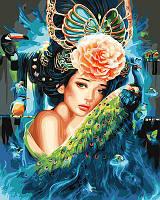 Картина по номерам Принцесса  без коробки, 40*50 см, Brushme