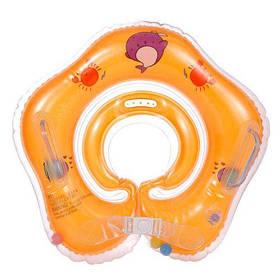 Круг для купания младенцев (оранжевый) 303 scs