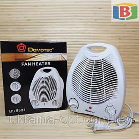 Тепловентилятор для дома. Горячий и холодный воздух. 2000W.  Domotec MS-5901