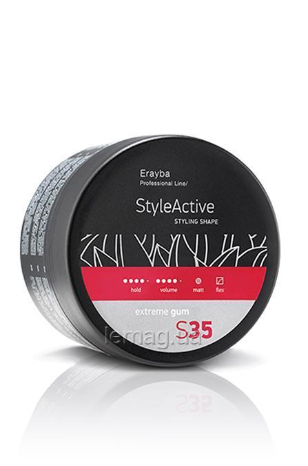 Erayba Professional STYLE ACTIVE S35 Extrme Gum Моделирующая паста сильной фиксации, 100 мл