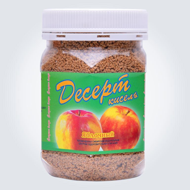 Десерт кисель яблочный Арго, пищевые волокна, для кишечника, желудка, пектин, дисбактериоз, витамины, минералы