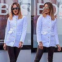 Куртка женская удлиненная весна-осень С, М, Л, фото 1