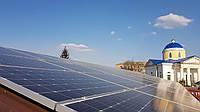 Проект 100 кВт ФЕС на Центральному ринку м.Прилуки (Чернігівська обл.)