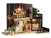 Кукольный дом Diy деревянный 3D