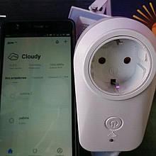 Розумна розетка Wi-Fi з таймером Lemanso LM 698 (дистанційне управління)