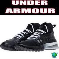 Кроссовки мужские черные осенние  Under Armour Project Rock 1 размеры 40.5, 41 3020788-001 40.5