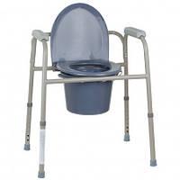Стул-туалет стальной OSD-BL710113, стул туалетный, горшок для взрослых, больных